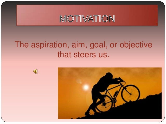 The aspiration, aim, goal, or objective that steers us.