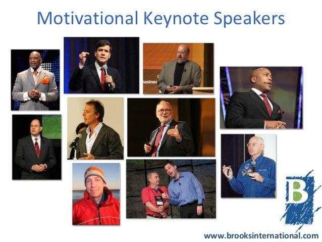 Motivational Keynote Speakers