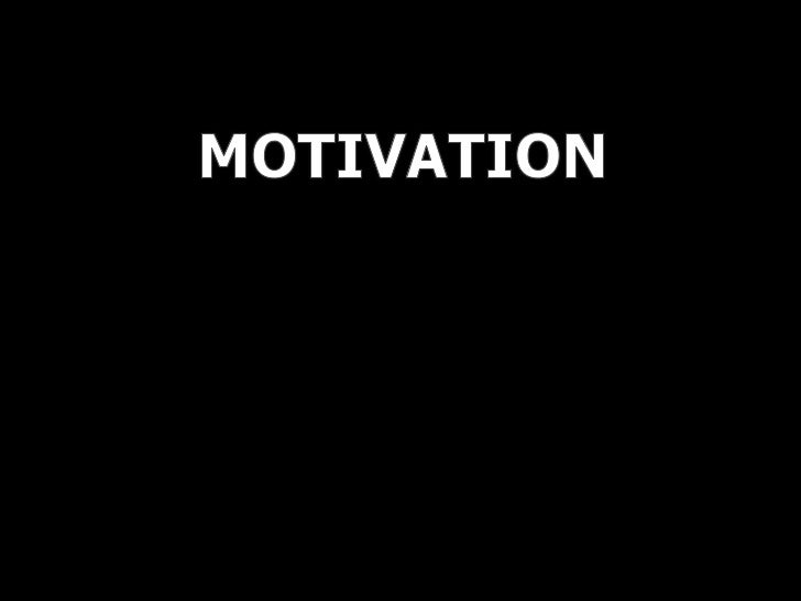 Motivation All Theory