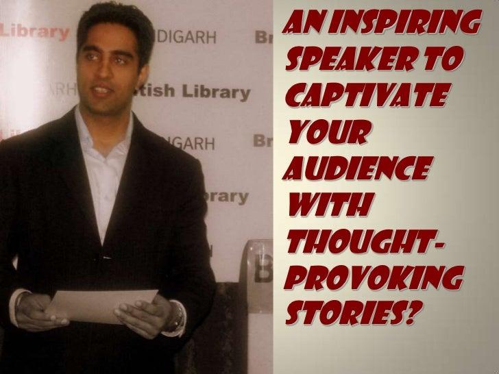 Motivational speaker business plan