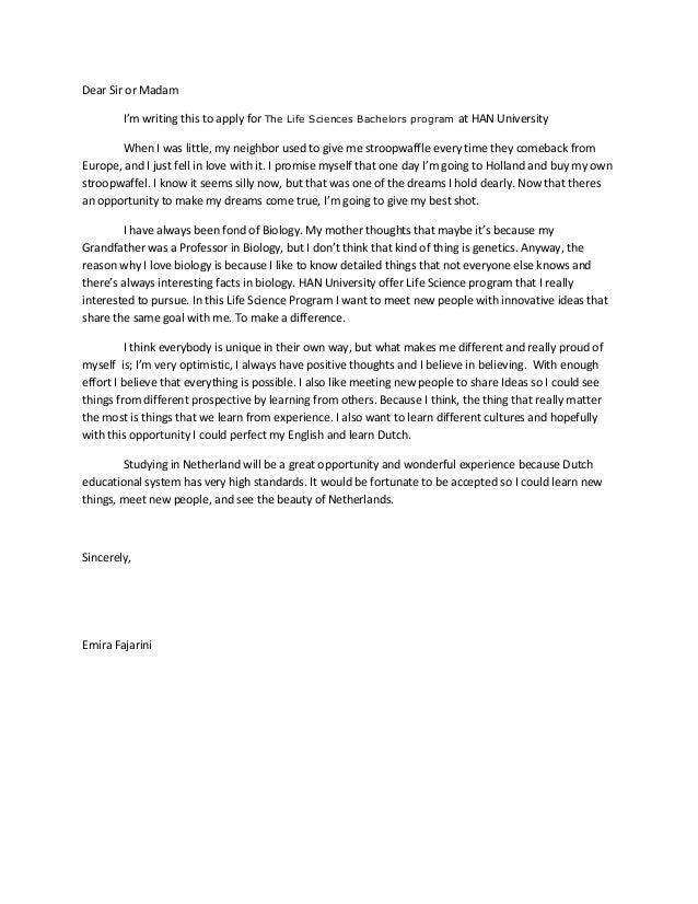 Write A Successful Motivation Letter For Your MasterS  MycorezoneCom