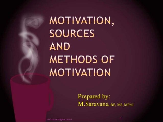 Motivation Saravana