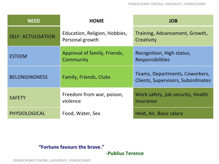motivational theories overview and introduction Management models and theories associated with motivation, leadership and change management, and their application to practical situations and problems this therefore, in summary, while the scientific management technique has been employed to increase productivity and efficiency both in private and public.