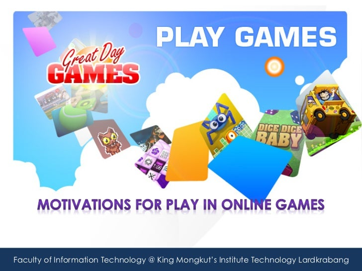 Motivation to play Online Game