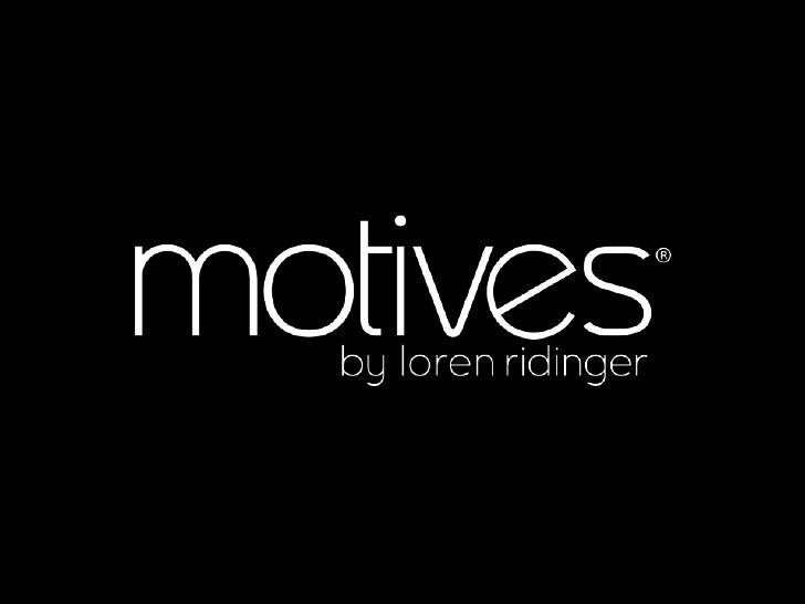 Motives Cosmetics Business Presentation