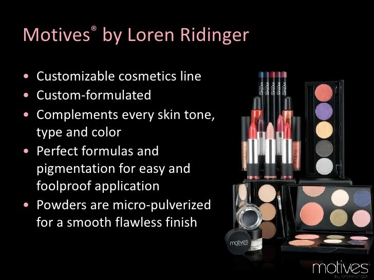 Motives by Loren Ridinger is a trusted name in makeup, skin care, and body care. Shop securely online for your favorite cosmetics and beauty products. Lumière de Vie Skincare for Men Learn More.