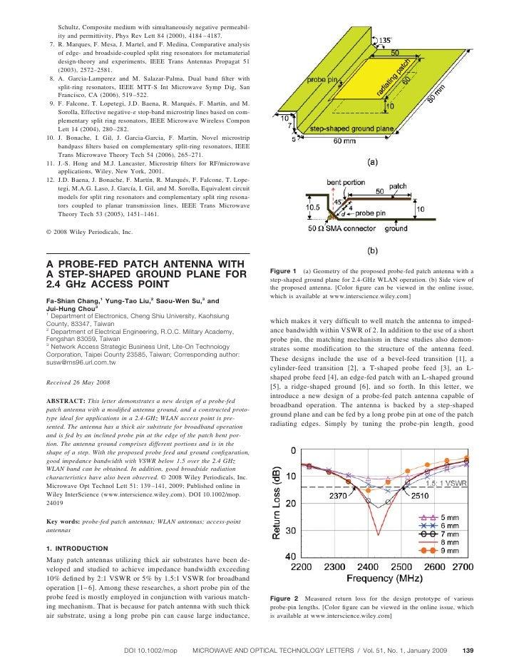 Schultz, Composite medium with simultaneously negative permeabil-       ity and permittivity, Phys Rev Lett 84 (2000), 418...