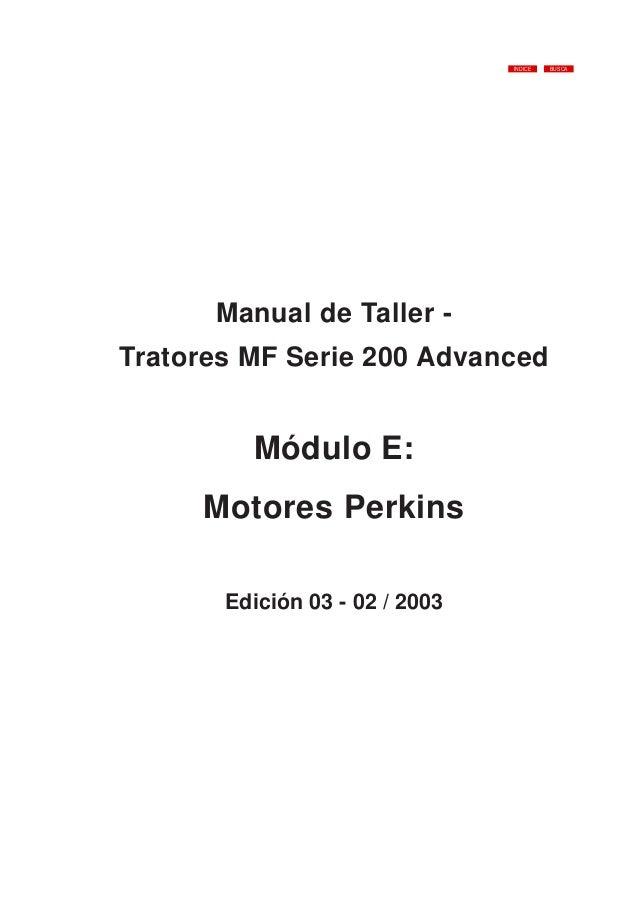 Motor perkins-manhual de taller
