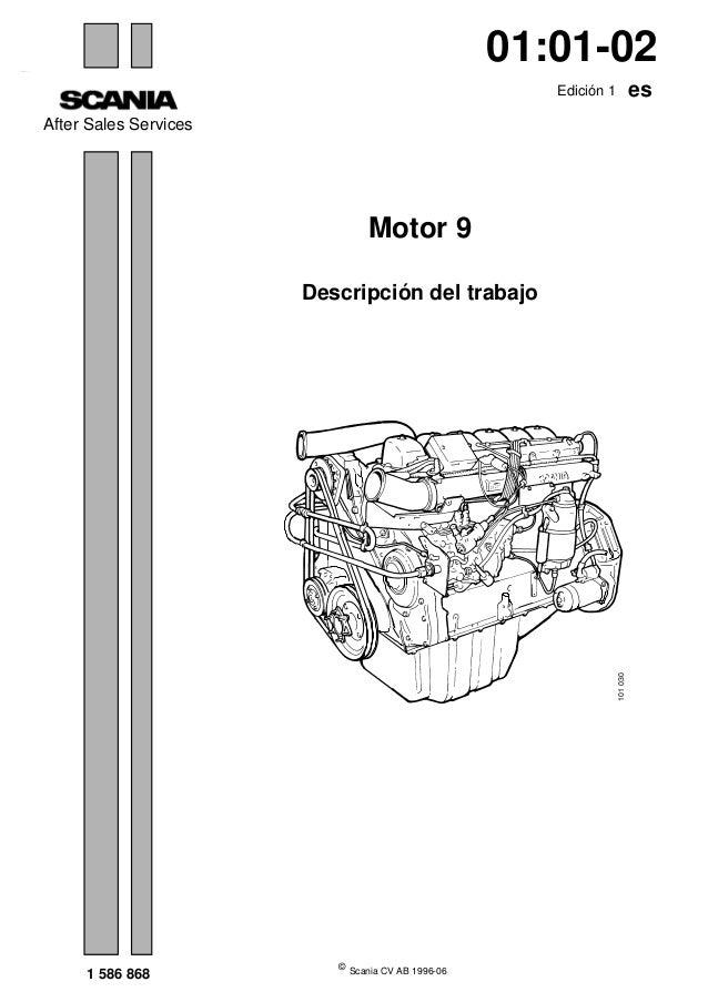 Motor 9 litros Scania