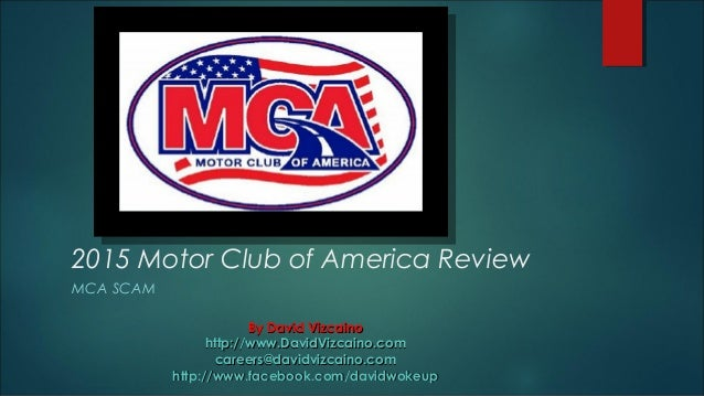 Motor club of america for Mca motor club of america scam
