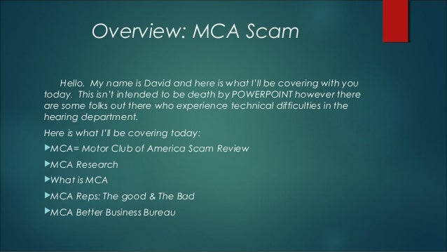 Motor club of america for Motor club of america better business bureau