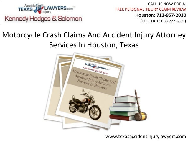 Motorcycle Crash Claims And Accident Injury Attorney Services In Houston, Texas