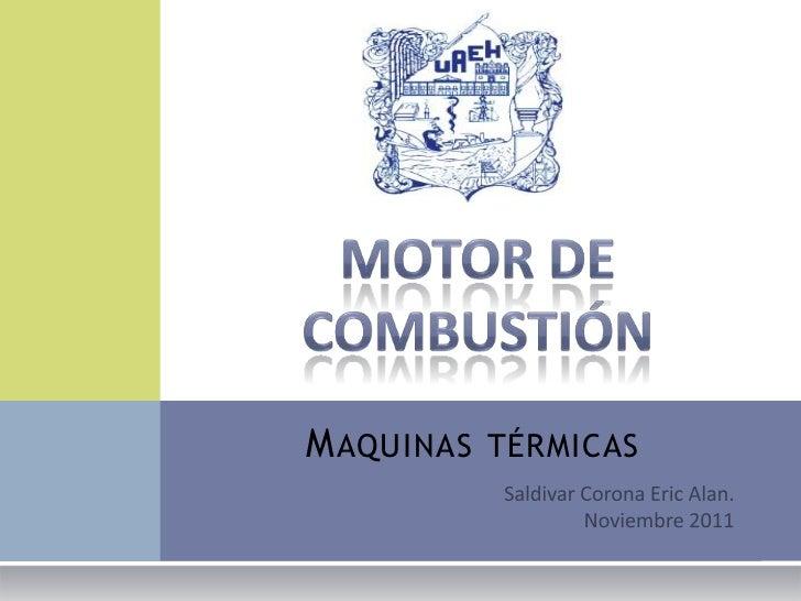 Motor de combustion