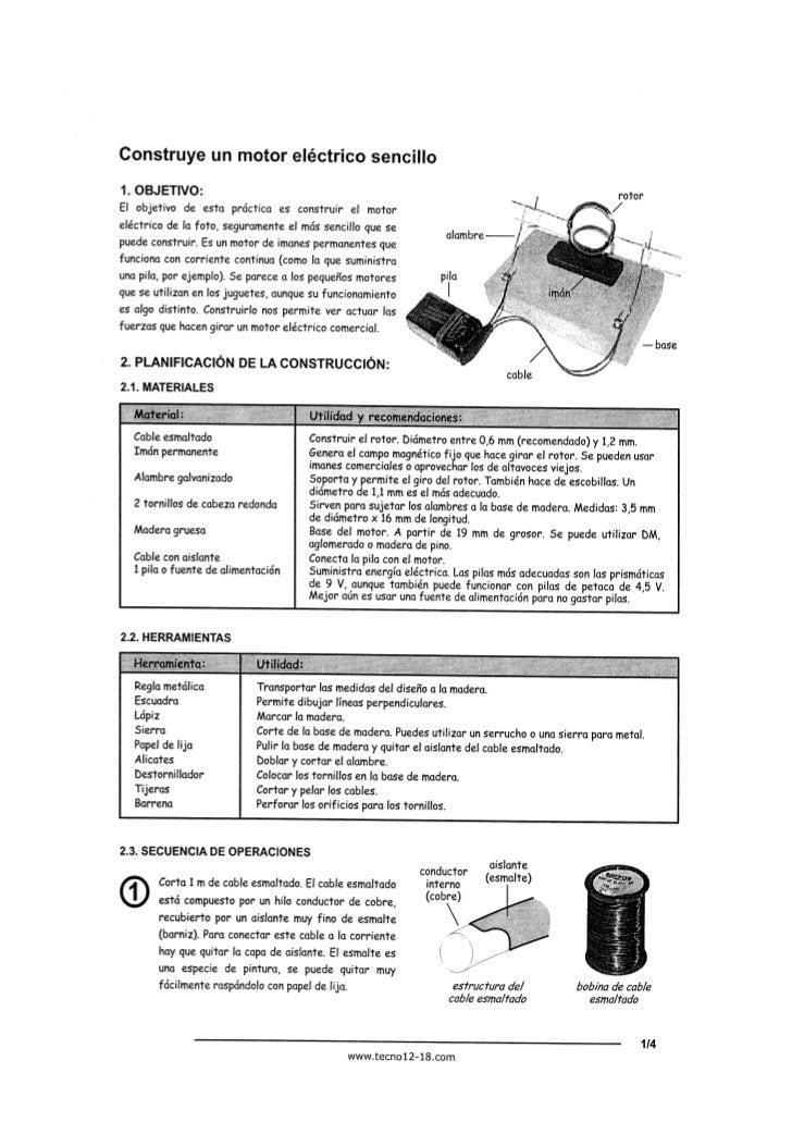 Motor eléctrico 2º ESO
