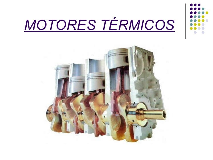 MOTORES TÉRMICOS