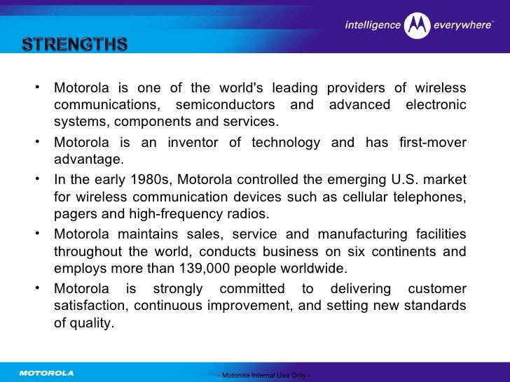 global strategy motorola Full-text (pdf) | purpose – the purpose of this paper is to define and explore the concept of financial supply chain strategy in a global business environment the.