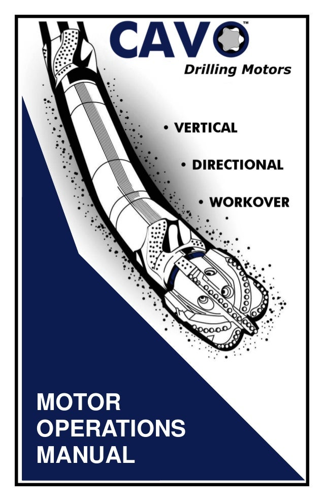 MOTOROPERATIONSMANUAL