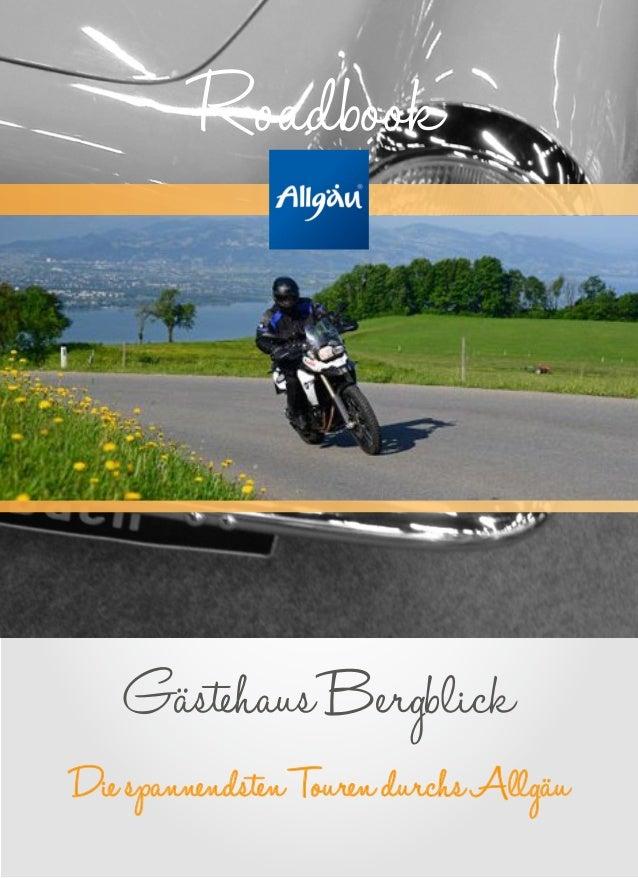 DiespannendstenTourendurchsAllgäu GästehausBergblick Roadbook