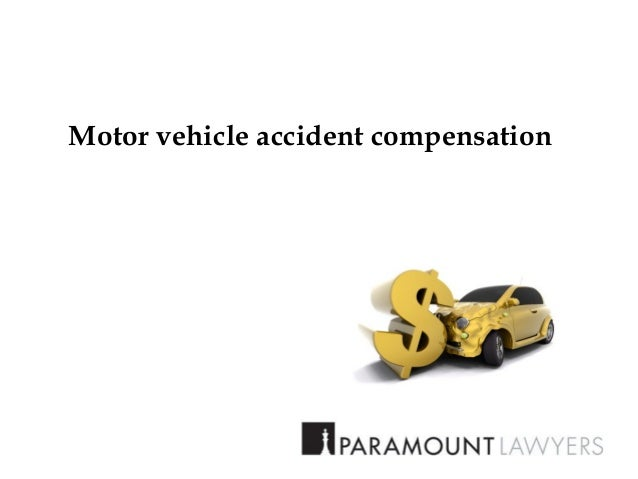 motor vehicle accident compensation