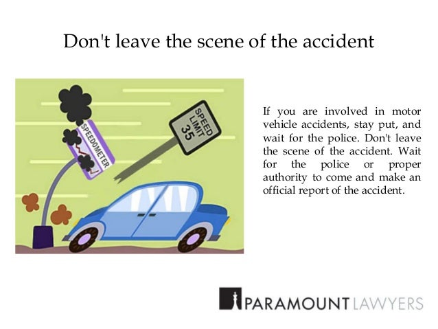 Don T Wait To Report Car Accident
