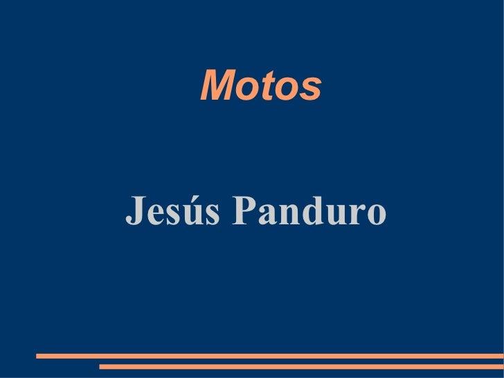 Motos Jesús Panduro