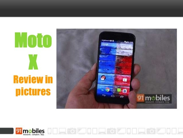 Moto X review in pictures