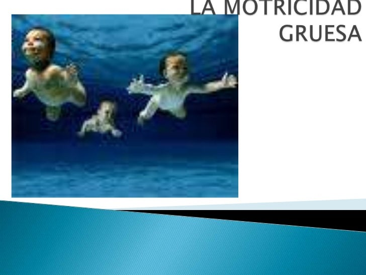 LA MOTRICIDADGRUESA<br />