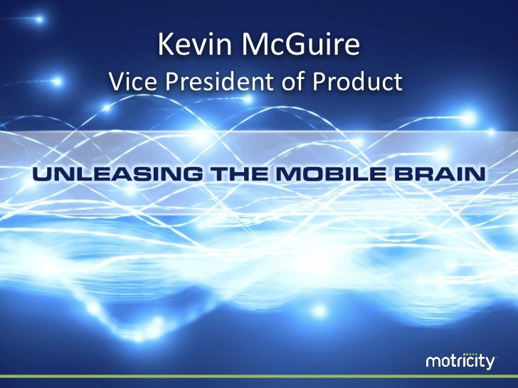 Kevin McGuireVice President of Product