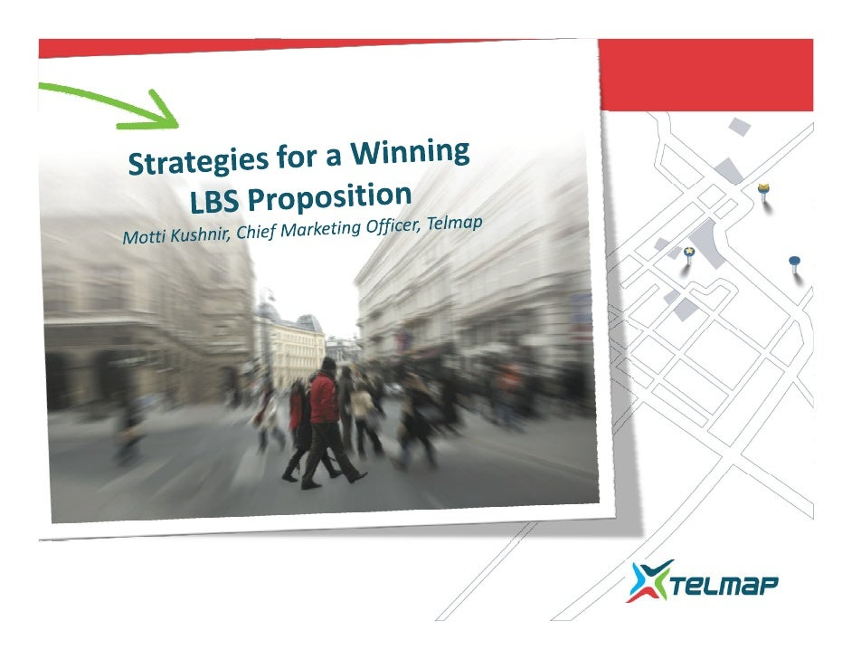 Telmap's strategies for a winning LBS propositions