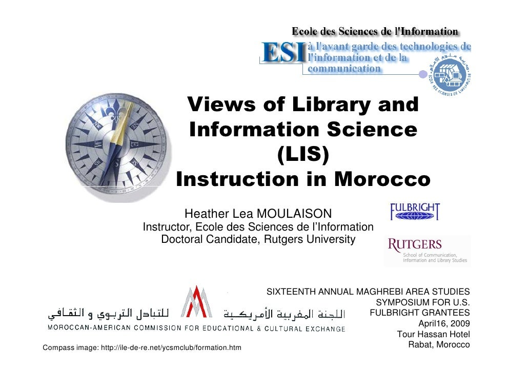 Views of Library and Information Science (LIS) Instruction in Morocco