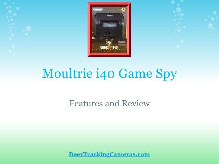 Moultrie I40 Game Spy