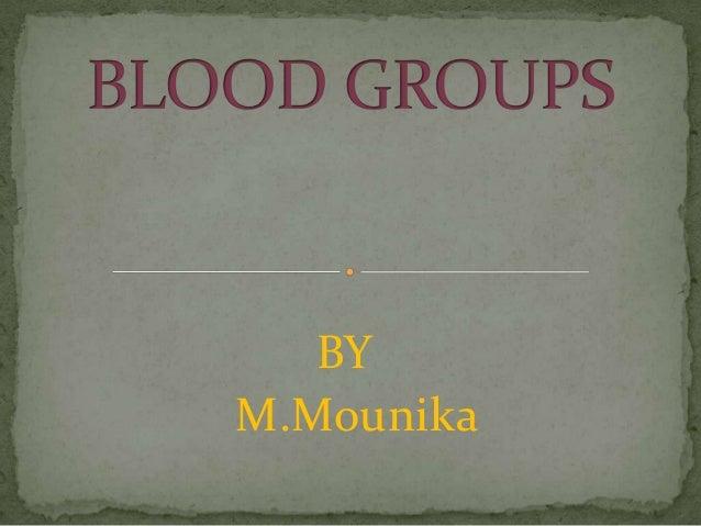 BY M.Mounika