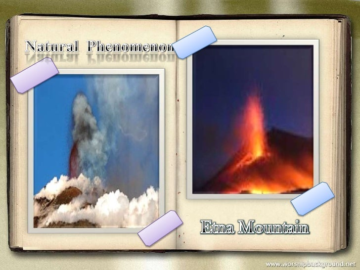 Natural  Phenomenon<br />Etna Mountain<br />