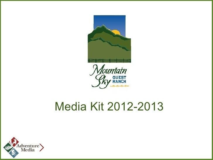 Media Kit 2012-2013