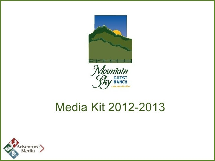 Mountain Sky Guest Ranch media kit
