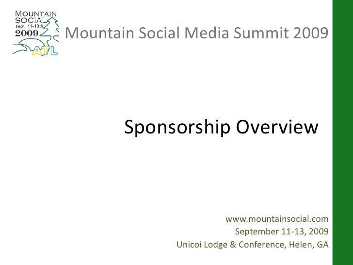 Mountain Social Media Summit 2009 Final   Web