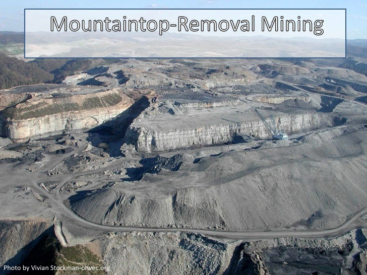 Mountaintop removal power point