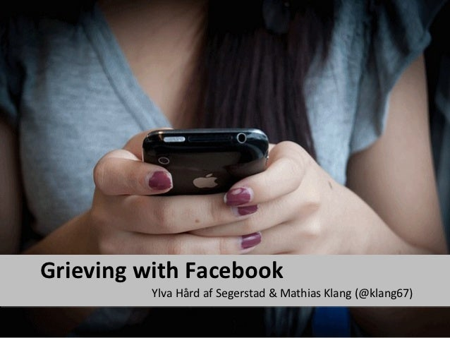 Grieving With Facebook