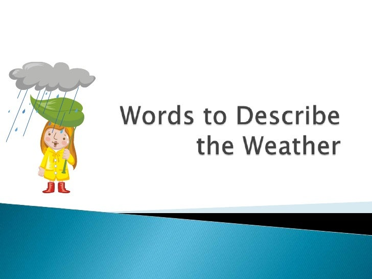 Mouse Mischief - Words for Weather
