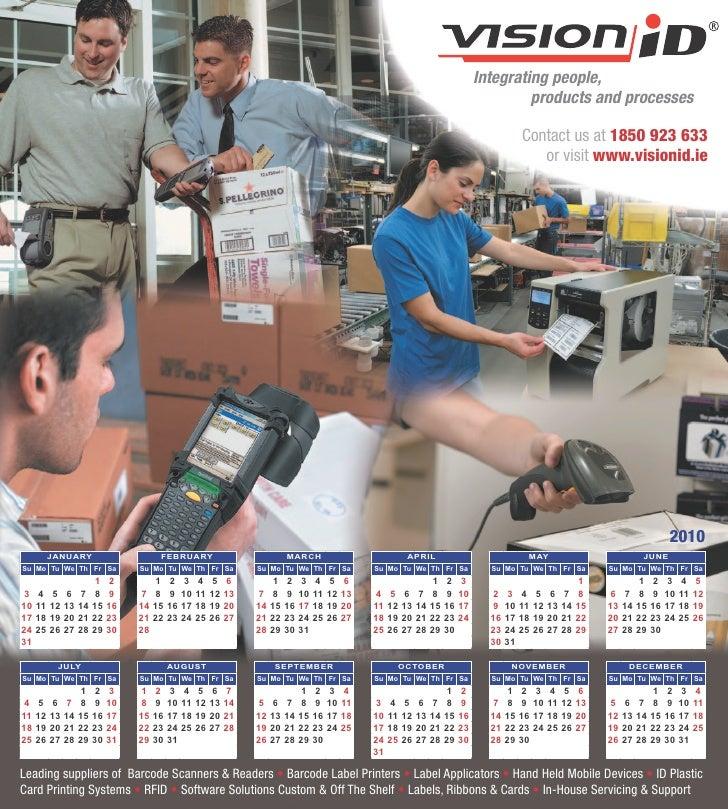 Mousepad/calendar