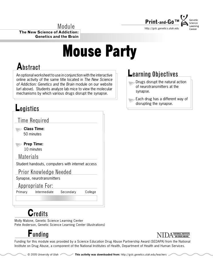 mouse party. Black Bedroom Furniture Sets. Home Design Ideas