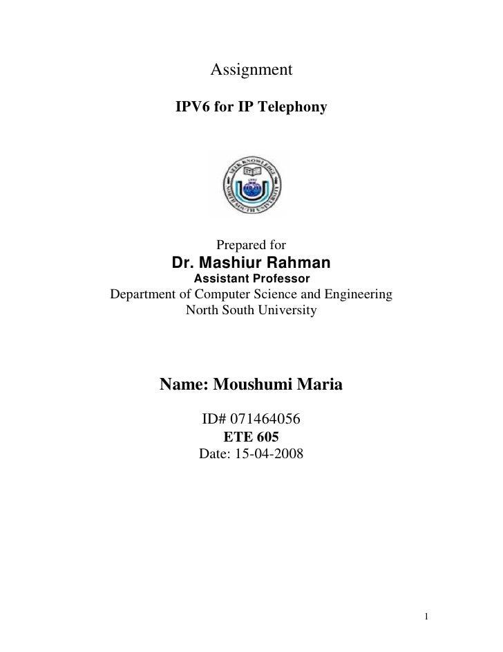 Moushumi Maria (071464056)