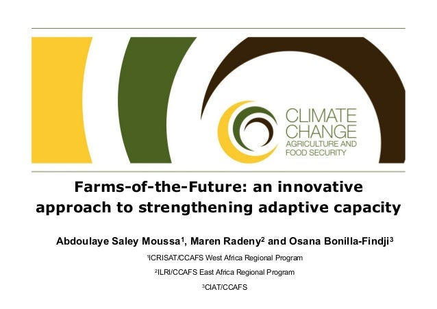 Farms-of-the-Future approach to accelerating climate change adaptation: case study from CCAFS in East and West Africa