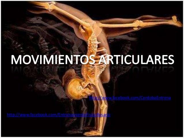 Movimientos Articulares