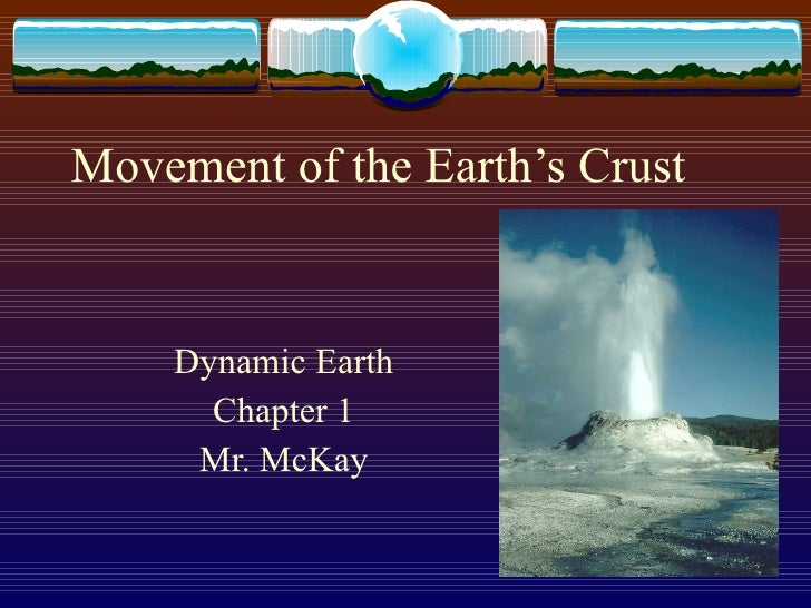 Movement Of The Earths Crust