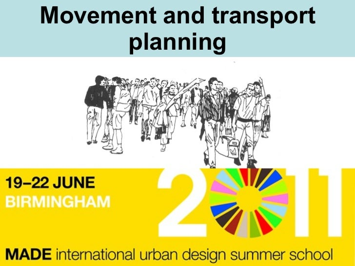 Movement and transport planning