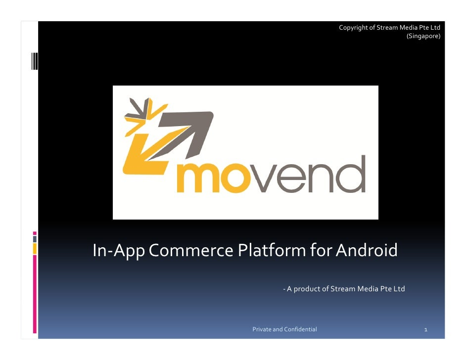MoVend Product Intro