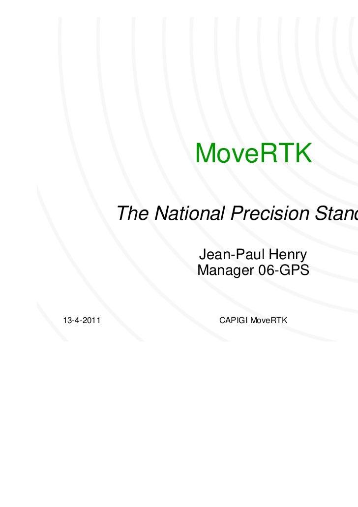 MoveRTK - The National Precision Standard