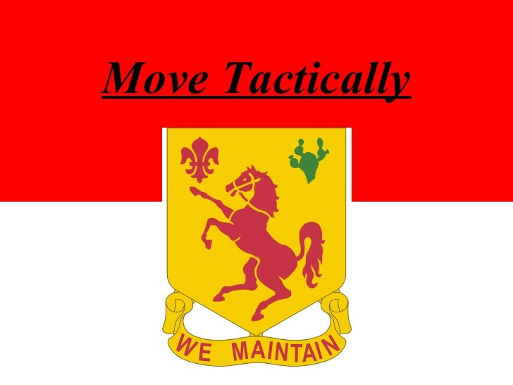 Move Tactically