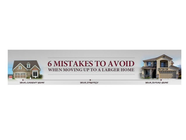 Move up mistakes to avoid